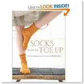 socks from the toe-up