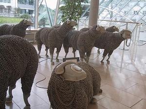 Sheepsculpturephone
