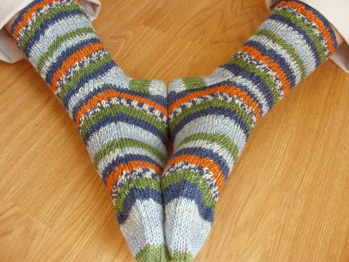 Gerta's Socks