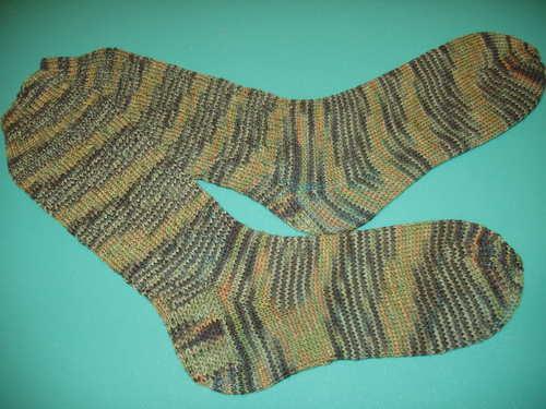 """Conversational"" Camo socks"
